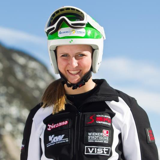 Nina Ortlieb wurde Dritte und stand wieder auf dem Podest.
