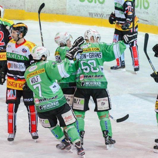 EHC Bregenzerwald will auch auswärts im Derby in Lustenau gewinnen.