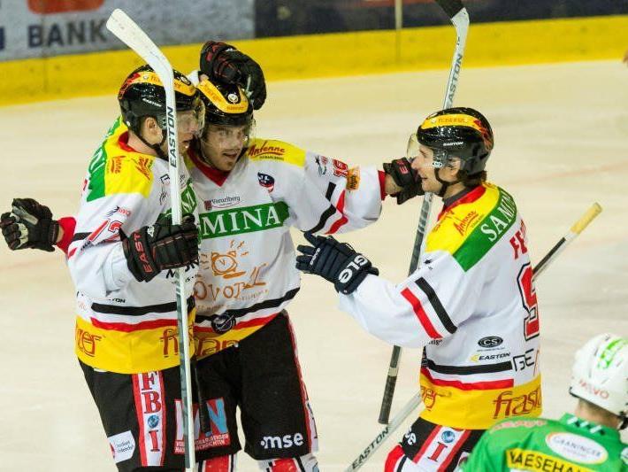 Mit den beiden Neuzugängen Kim und Gruber will die VEU Feldkirch wieder Erfolge einfahren.