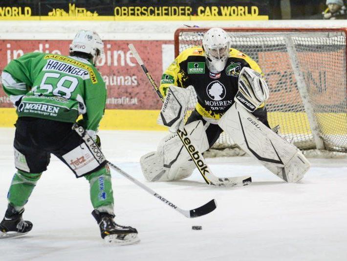 Der EHC Bregenzerwald muss innert fünf Tagen drei Meisterschaftsspiele bestreiten und hofft auf Punkte.
