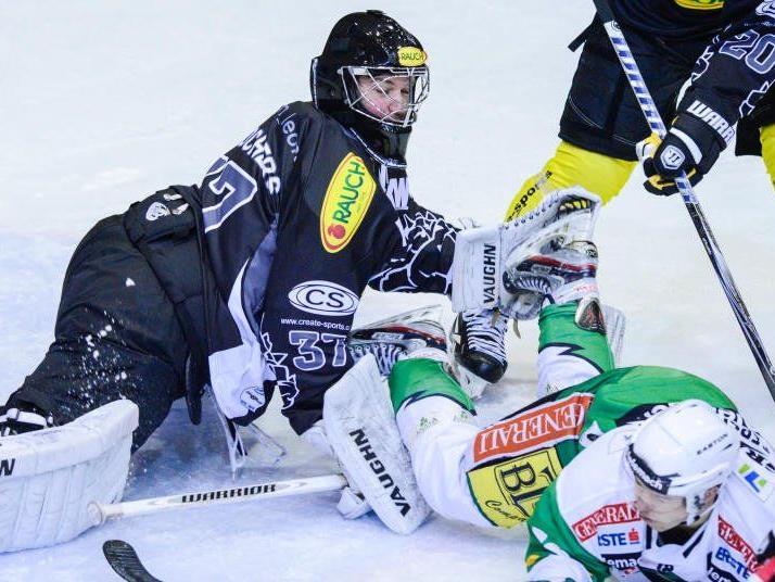 Im vierten Aufeinandertreffen gegen Graz soll es für den EC Dornbirn endlich den ersten Sieg geben.
