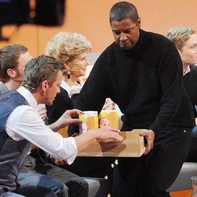 """Denzel Washington findet """"Wetten, dass...?"""" altmodisch."""