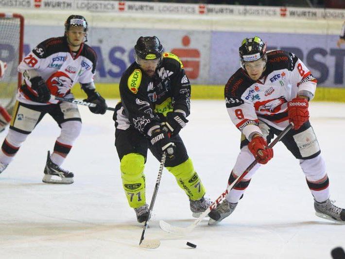 EC Dornbirn muss in den beiden Auswärtsspielen dringend punkten um dran zu bleiben.