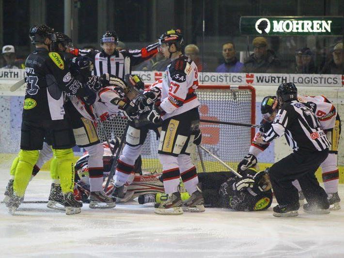 EC Dornbirn steht im Westderby gegen Innsbruck schon mächtig unter dem Druck des Siegenmüssens.