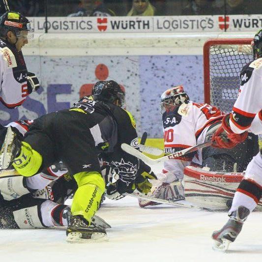 EC Dornbirn schoss kein Tor in Laibach und verlor mit 0:4-Treffern.