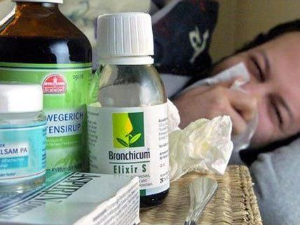Die Zahl der Grippefälle in Wien ist erneut gestiegen.