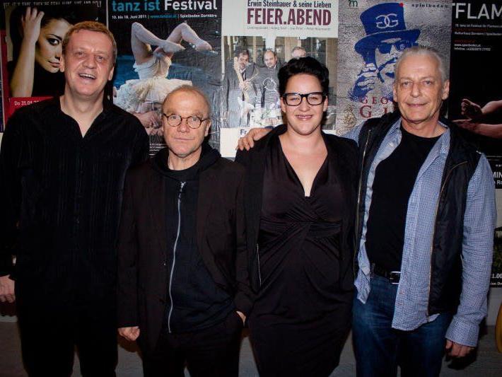 Spielten auf: Roman Lorenz, Michael Köhlmeier, Martina Breznik, Harry Marte.