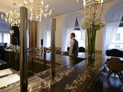 Das neue Wiener Luxus-Hotel wird offiziell am 30. Jänner eröffnet.