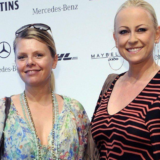 Jenny Elver, hier mit Schauspielkollegin Anne-Sophie Briest.