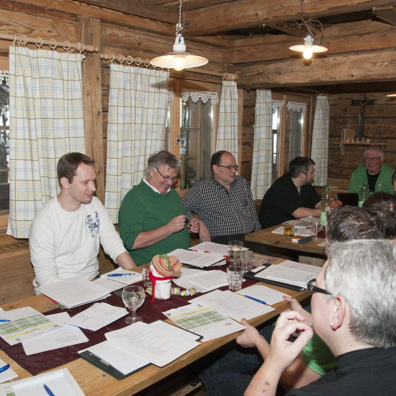 Austria Lustenau tagte zwei Tage lang in Leos Hütte in Hittisau.