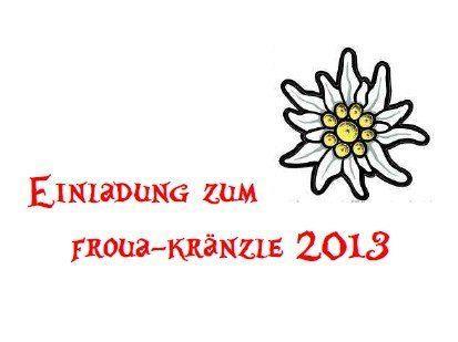"""""""Almrausch und Edelweiß"""" - das Motto beim diesjährigen Froua-Kränzle."""