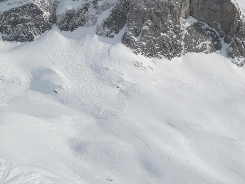 Schneebrett am Stierloch