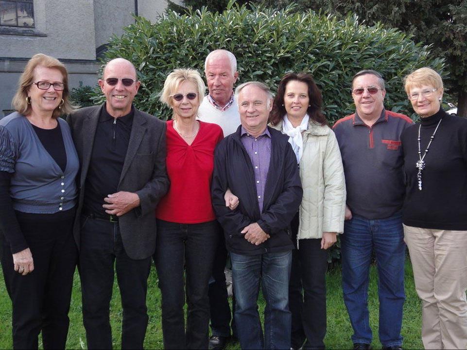 Vorstand der Seniorenbörse Bregenz mit Obmann Gottfried Schröckenfuchs (2. von links).