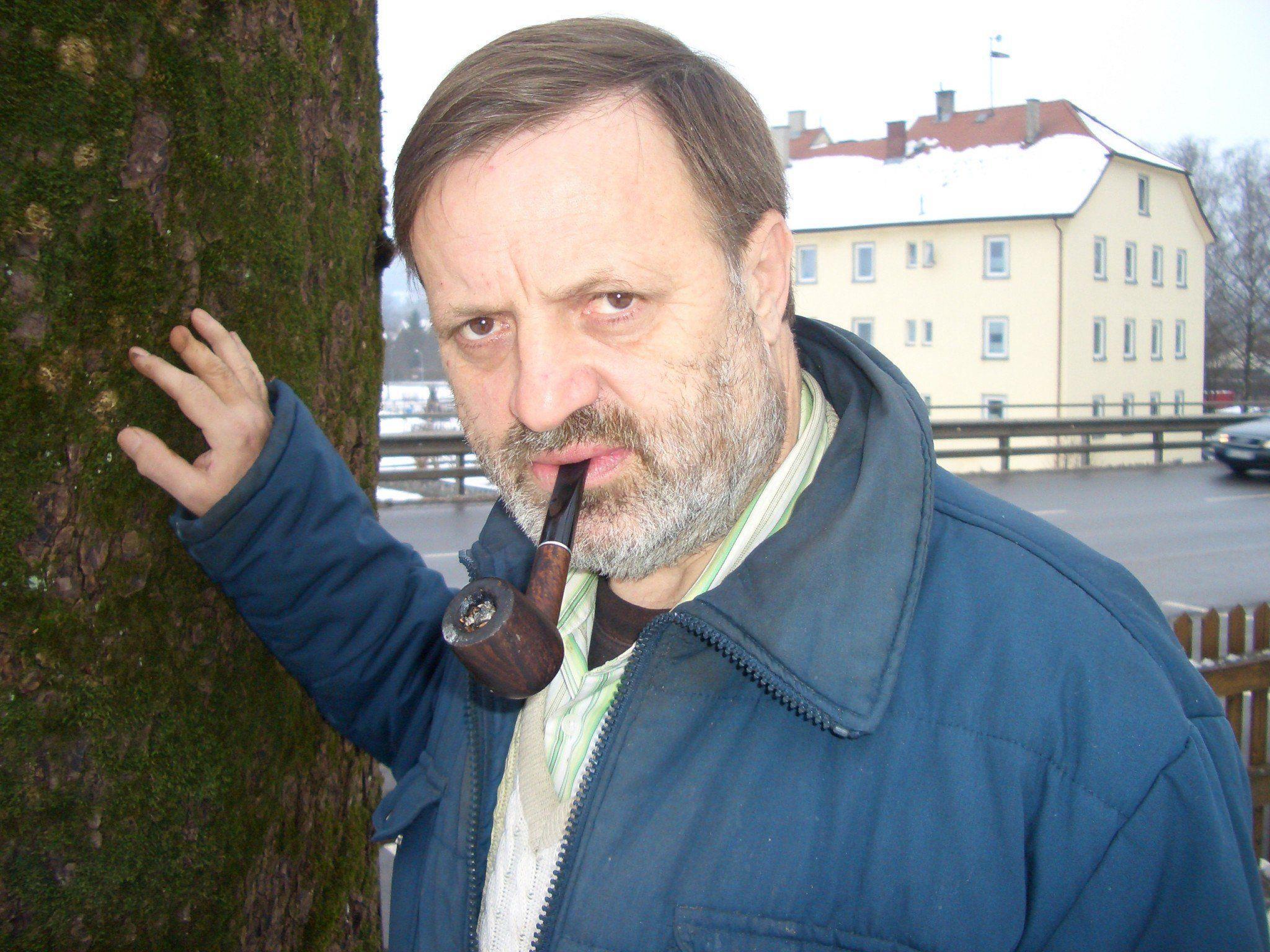 Der Autor Manfred Strolz beweist sich auch als Fotokünstler.