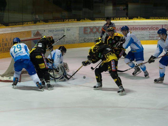 Der EHC Palaoro Lustenau ist nach dem 4:0-Heimsieg gegen Kranj nicht mehr Schlusslicht.