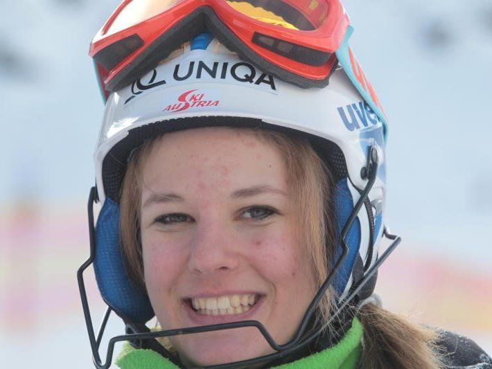 Die Bezauerin Elisabeth Kappaurer aus Bezau wurde beim EC Debüt in Schruns 40igste.