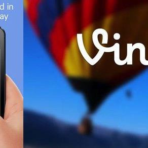 """Mit der """"Vine""""-App von Twitter können Videos schnell und einfach erstellt werden."""