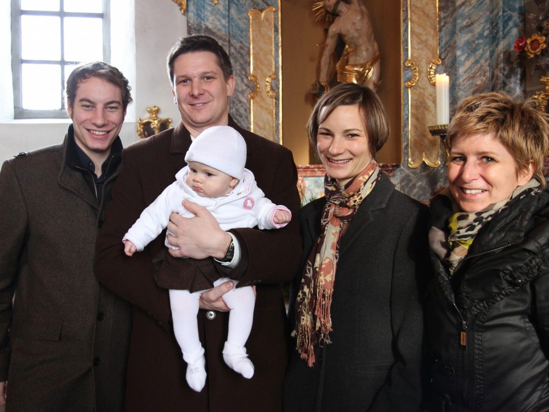 Taufe von Valerie Mathis