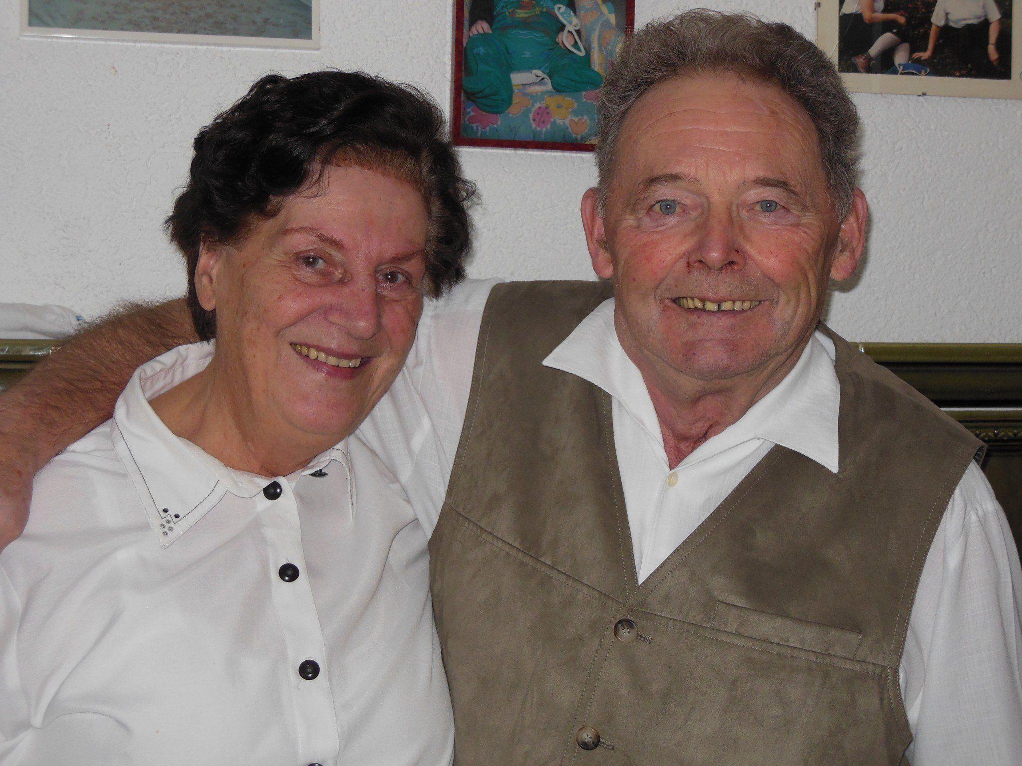 Glücklich und zufrieden blickt das Paar auf 50 gemeinsame Jahre zurück.