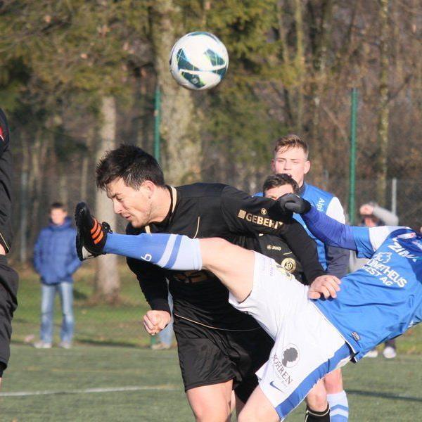 Florian Zellhofer sorgte mit seinem Doppelpack für einen 2:1-Testsieg gegen Pfullendorf.