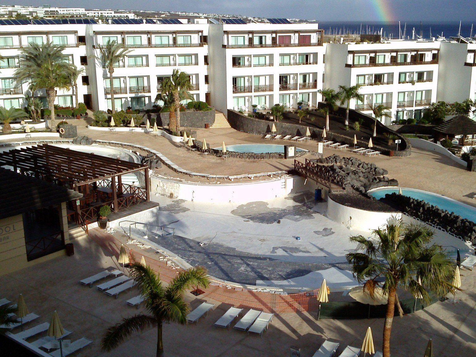 Hotel Hesperia Lanzarote***** in Puerto Calero in Spanien.