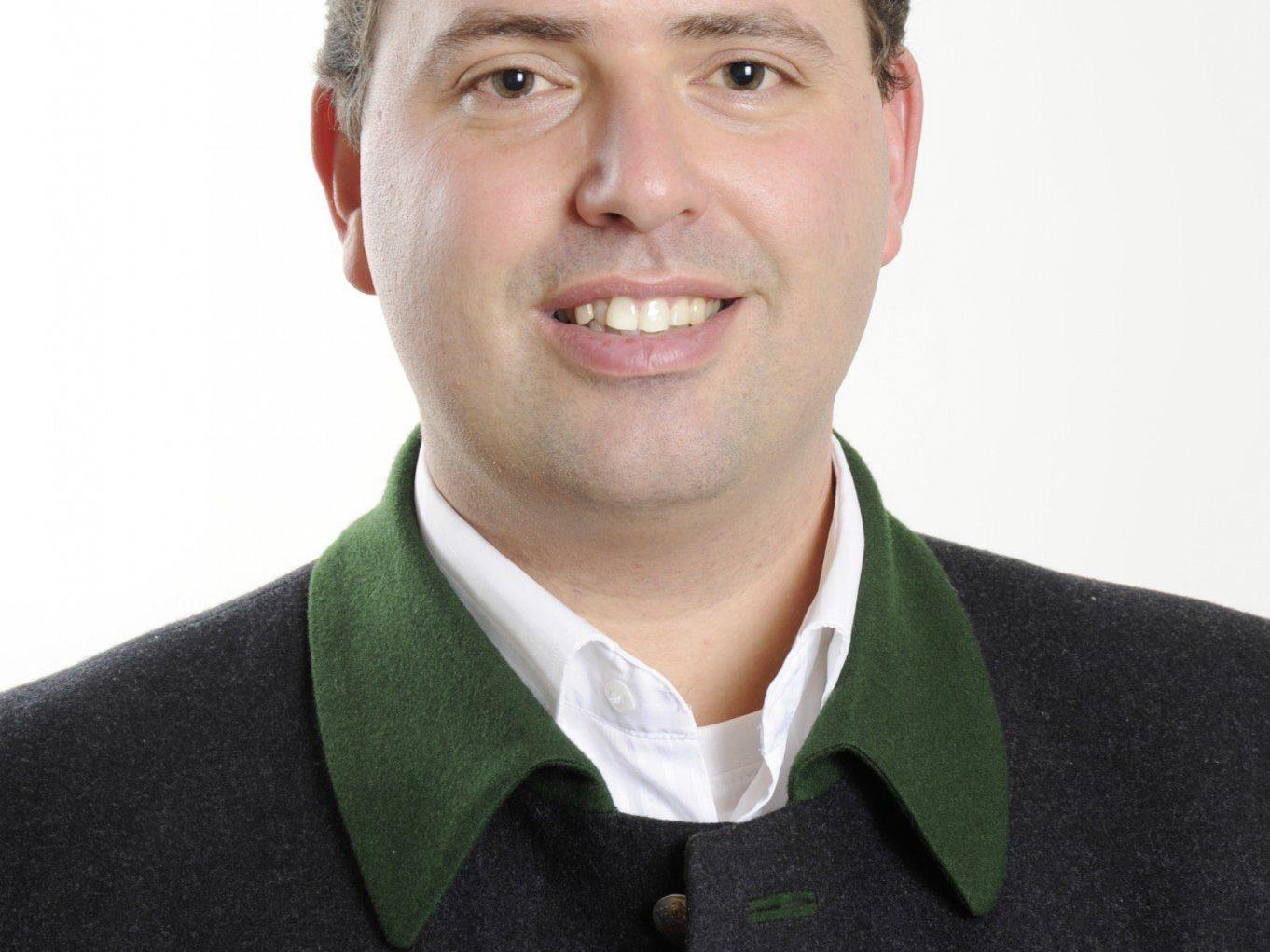 Manuel Bitschnau steht in den Startlöchern für seine neuen Aufgaben.
