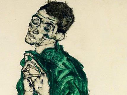 Neuer Auktionsrekord für drei Schiele-Blätter in Wien