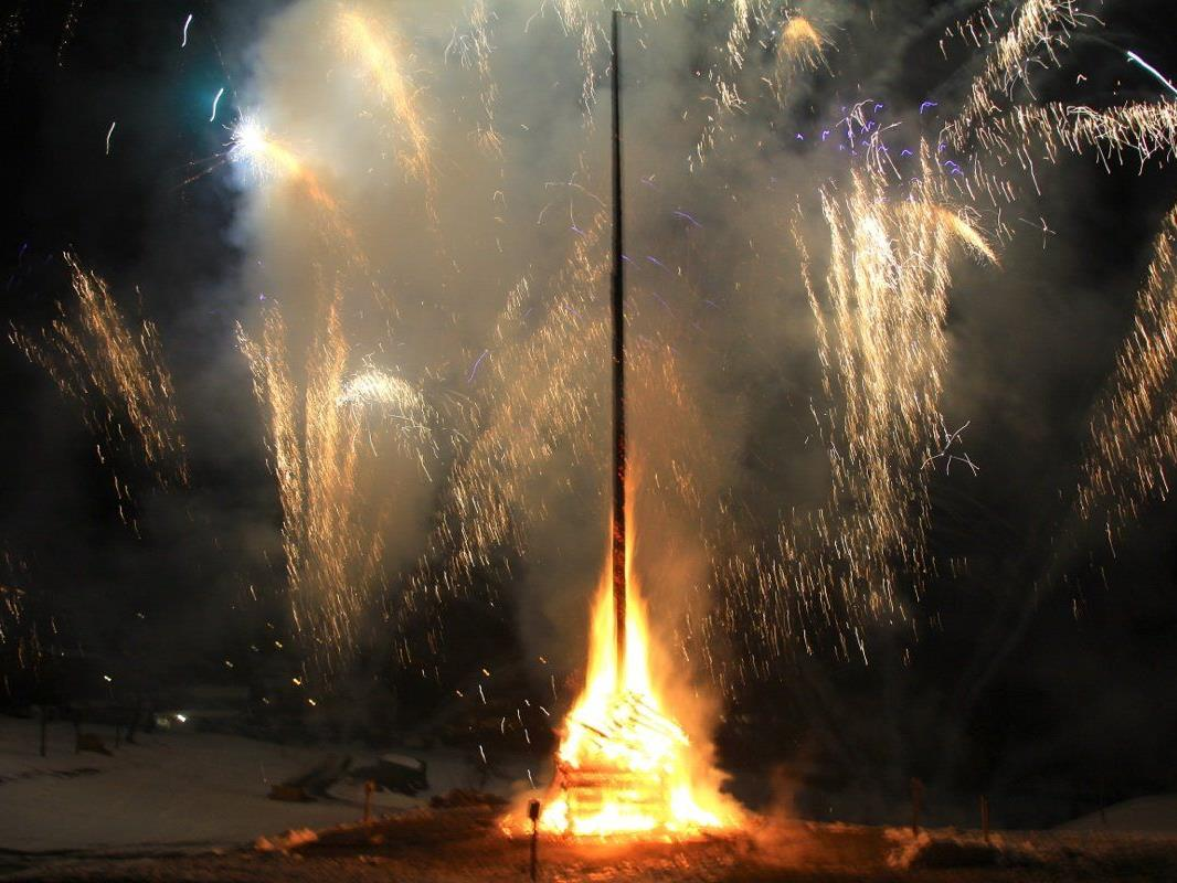 Ein unvergessliches Erlebnis war der Funken mit 10-minütigem Feuerwerk