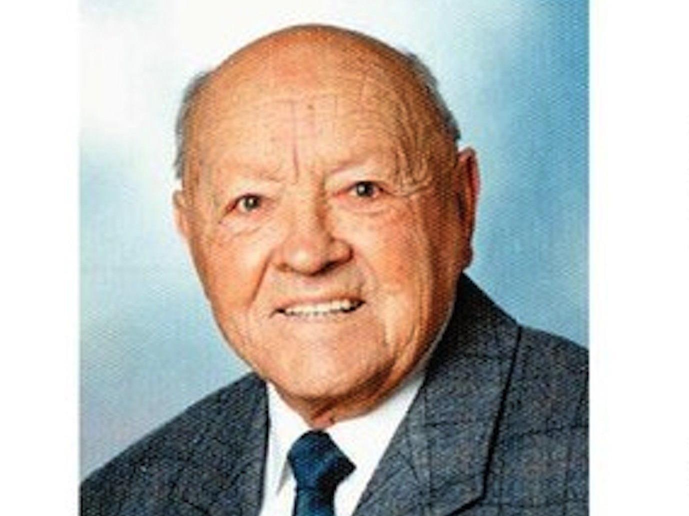 Otto Belutta, langjähriges Mitglied der FFW Vandans und Gmeinderat verstarb am 6. Februar 2013 im Alter von 99 Jahren.