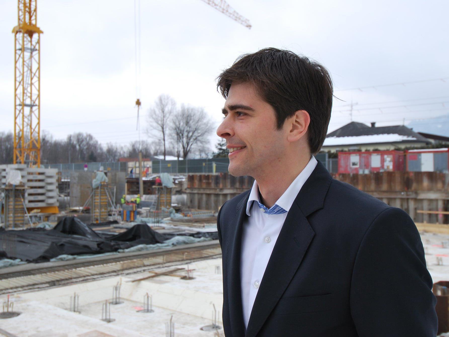 Zumtobel Projektleiter Clemens Bechter