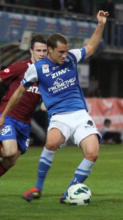Christian Haselberger wird auch im Frühjahr das FCL-Dress tragen.