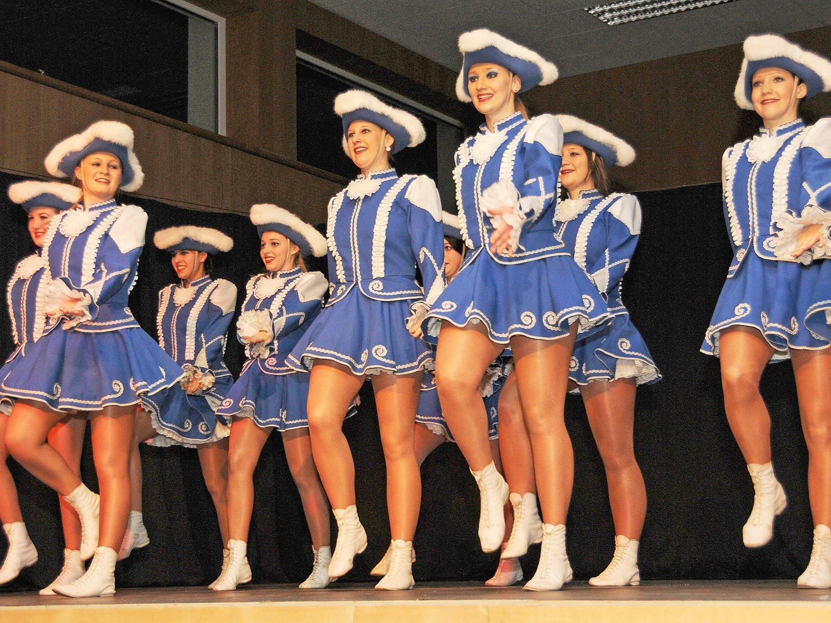Bei der Gardegala in der Rheinauhalle Höchst ist natürlich auch die Höchster Garde zu bewundern.