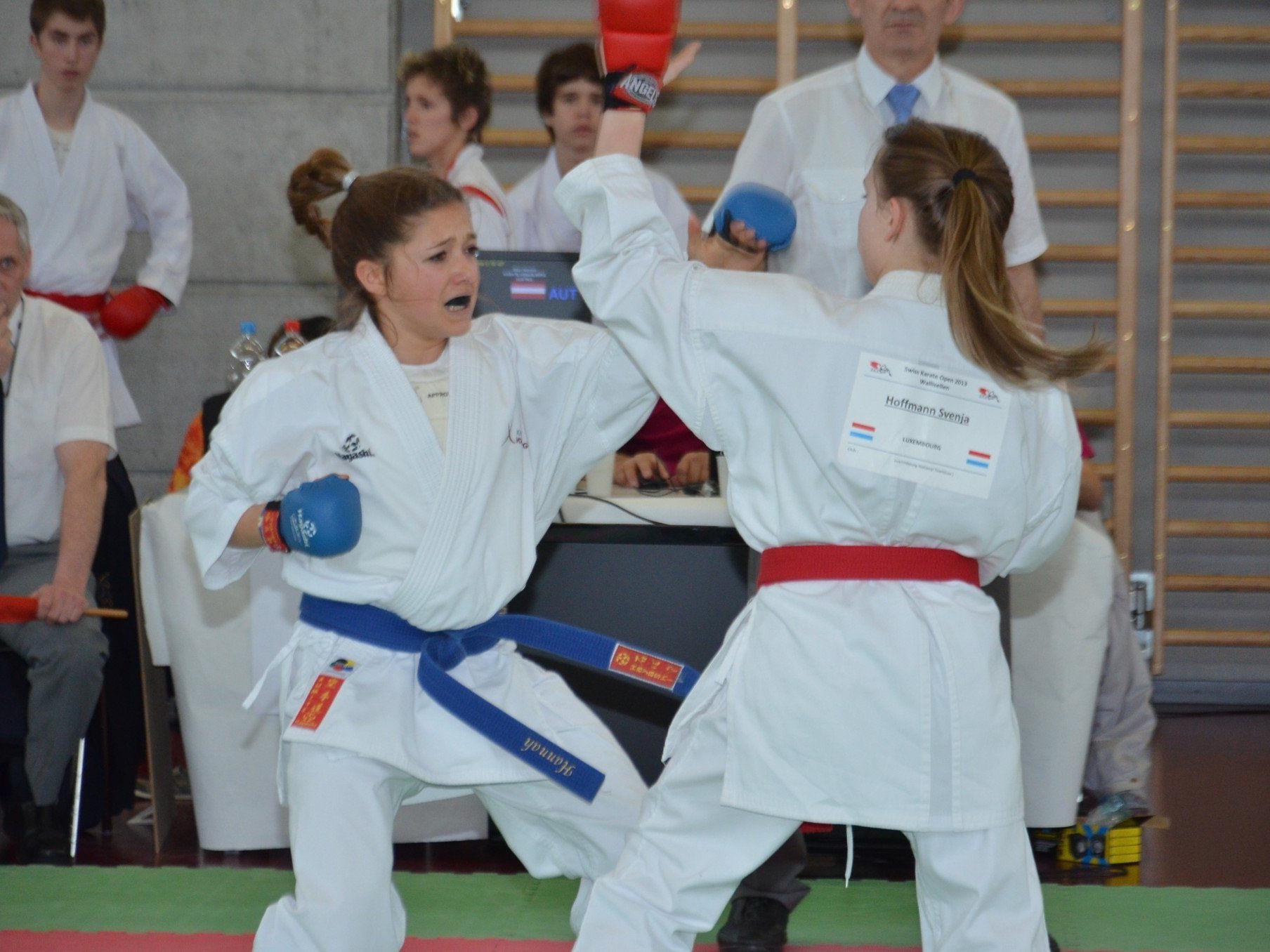 Hannah Mayr wurde Zweite und legte eine Talentprobe ab.