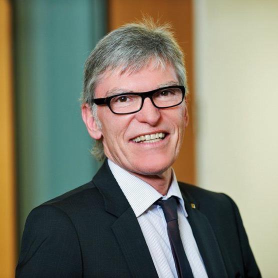 Vorstandsvorsitzender Wilfried Hopfner freut sich über das gute Rating.