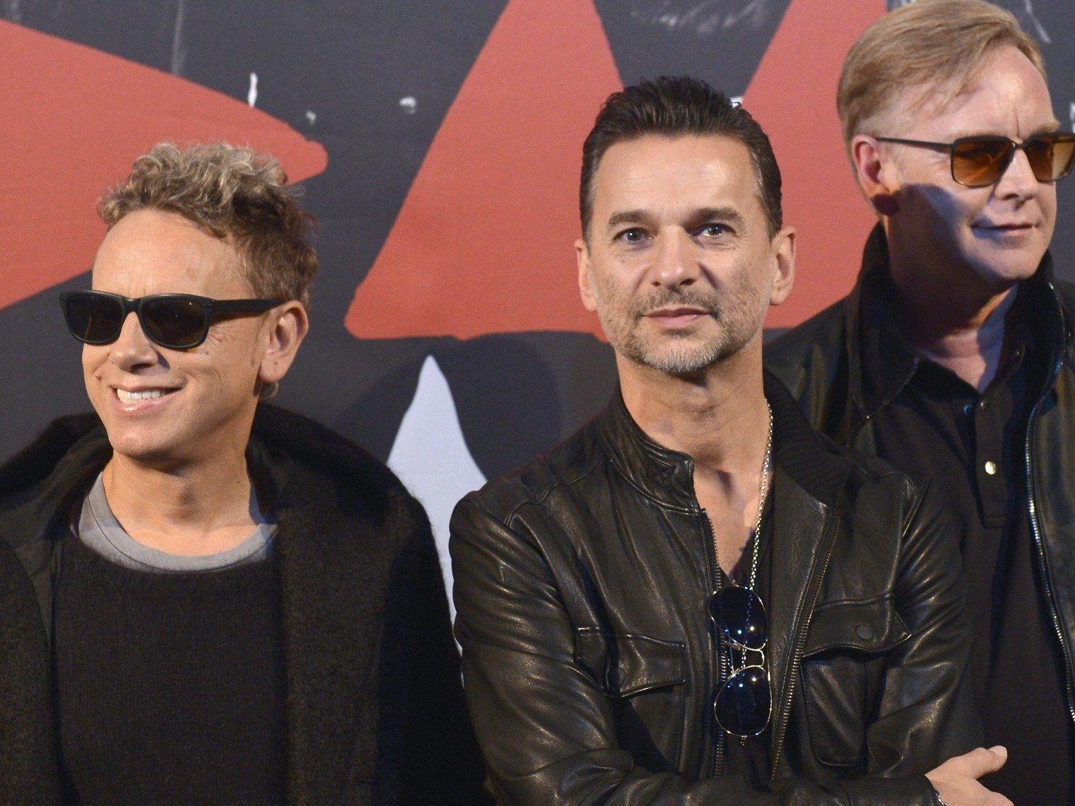 Depeche Mode treten am 24. März 2013 in Wien auf.