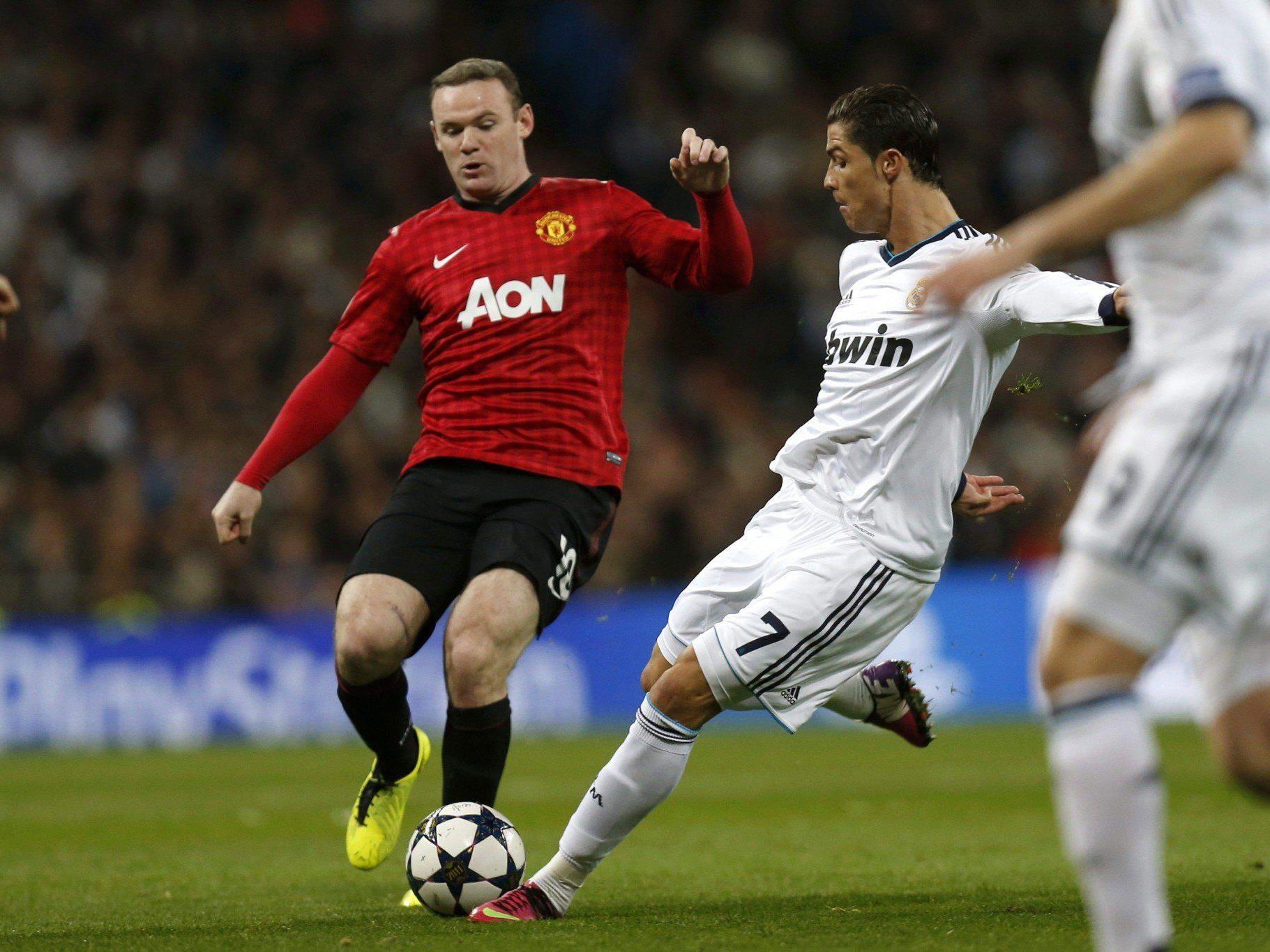 Ronaldo traf erstmals auf Ex-Klub Manchester.
