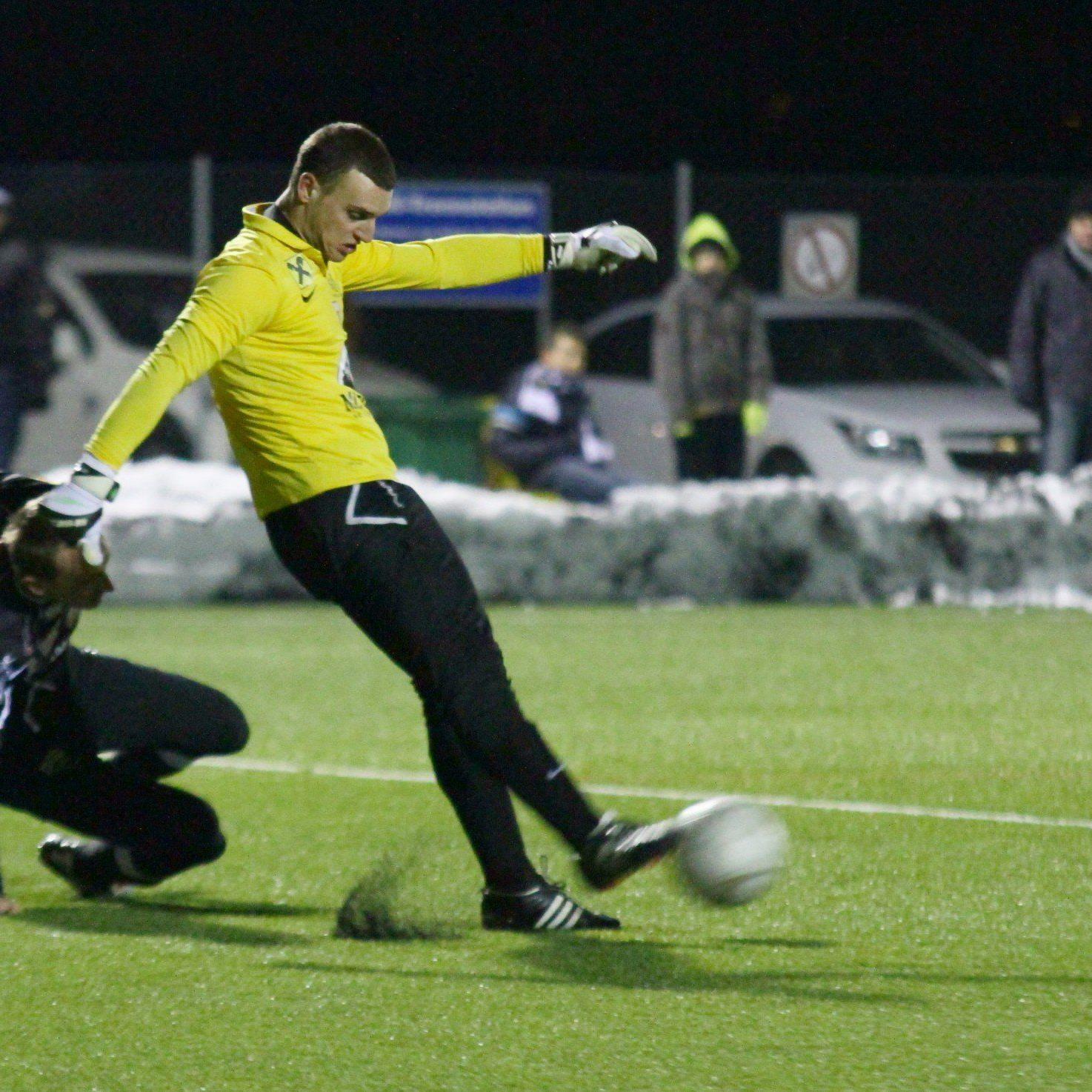 Bregenz-Goalie Dominic Hehle zeigte trotz sechs Gegentoren eine starke Partie.