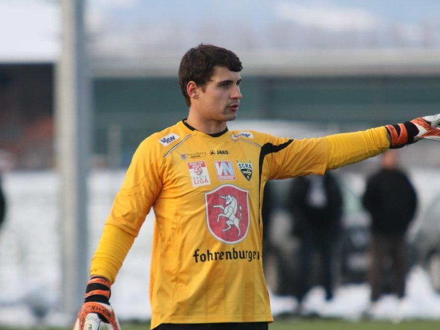 Altach-Goalie Martin Kobras fiebert schon dem Auftakt gegen Grödig entgegen.
