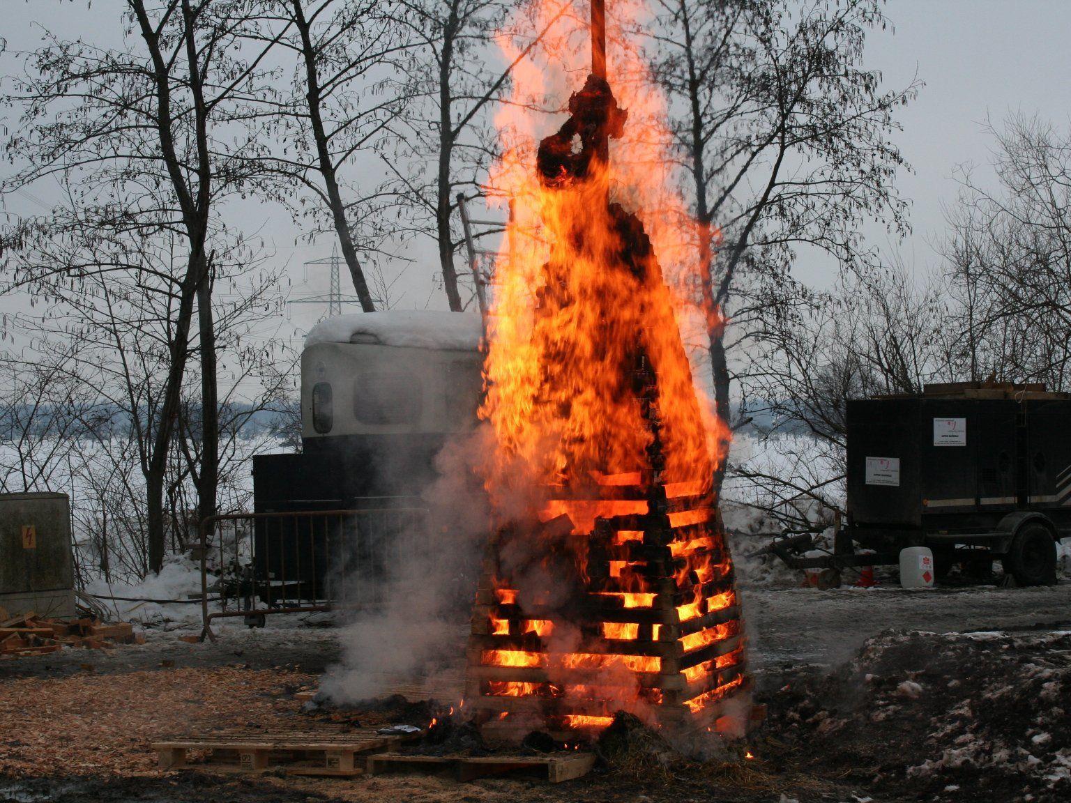 Kinderfunken brannte lichterloh