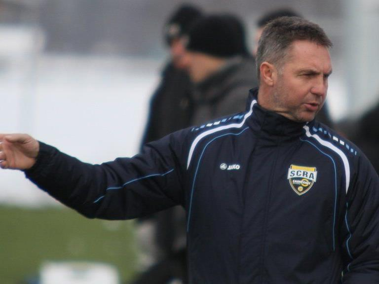 Altach Trainer Damir Canadi musste mit seiner Mannschaft ins Ländle zurückkehren.