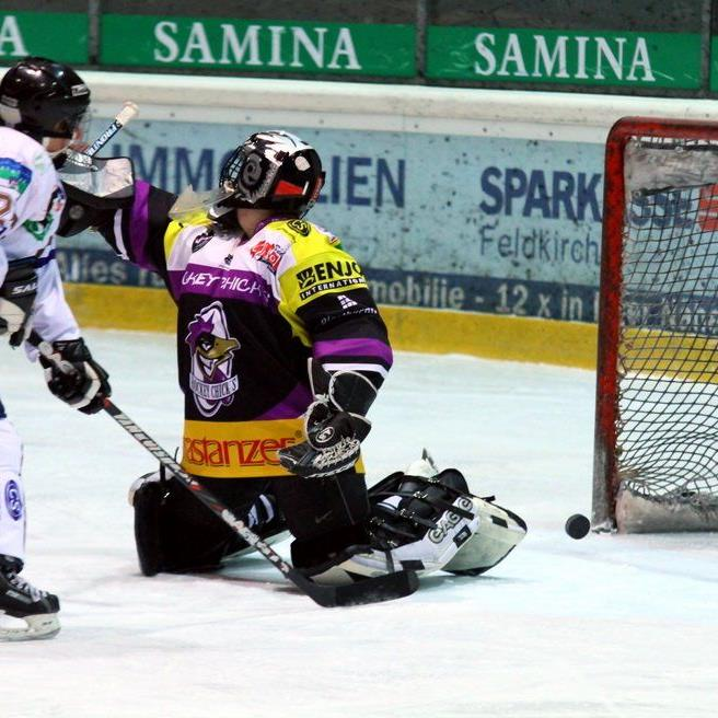 Elke Mähr schoss das 1:1 im Spiel gegen die VEU Hockey Chicks, aber Rankweil verlor mit 1:3