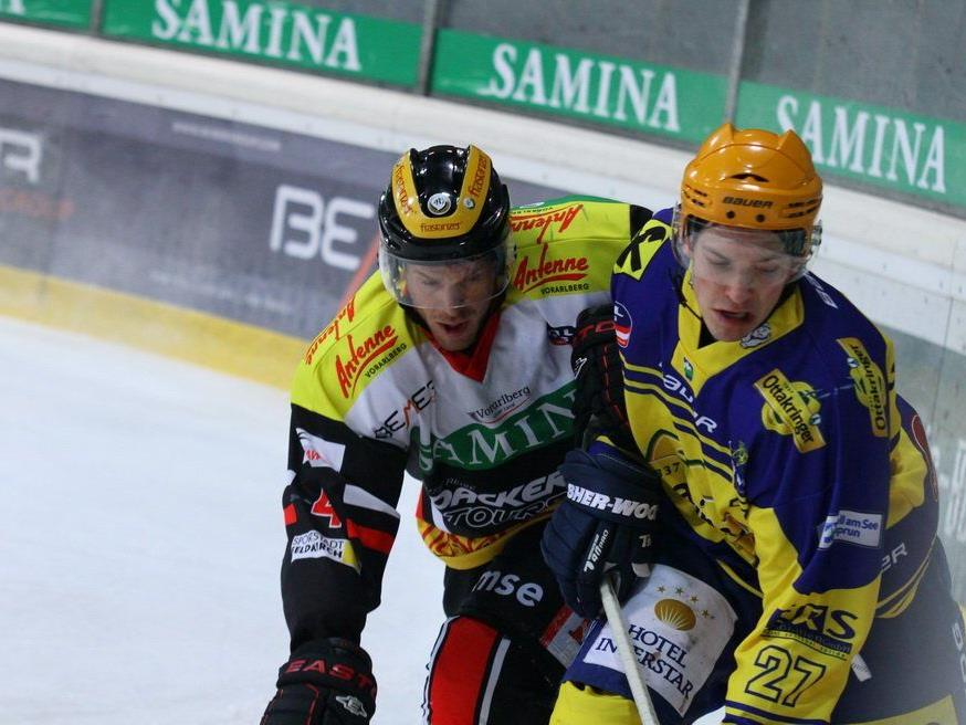 Der VEU Feldkirch hilft nur noch ein Wunder um das Play-off zu erreichen.