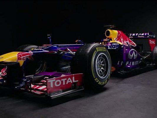 Präsentation des Red-Bull-Renault RB.