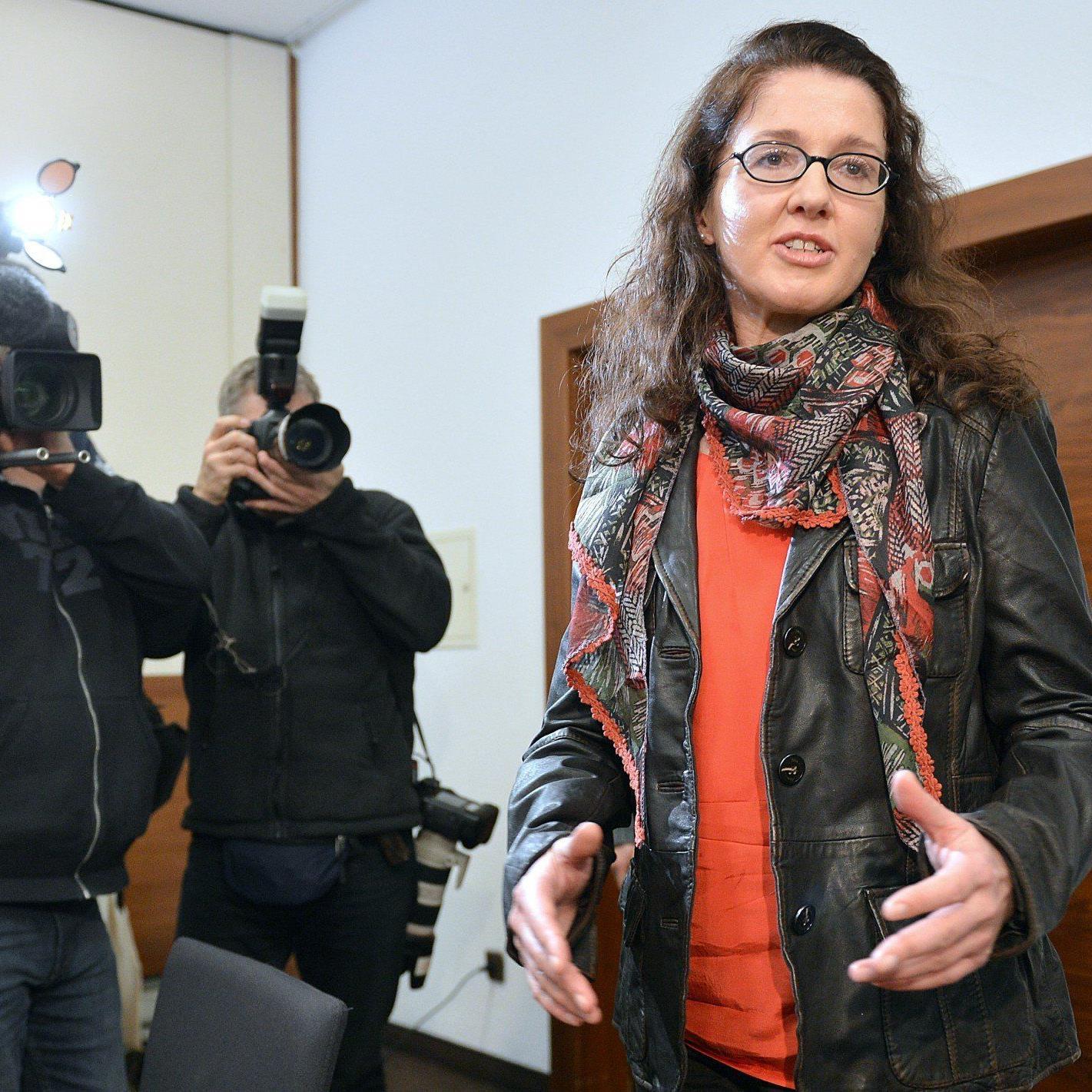 Monika Rathgeber wird am Freitag gerichtlich gegen ihr Entlassung kämpfen.