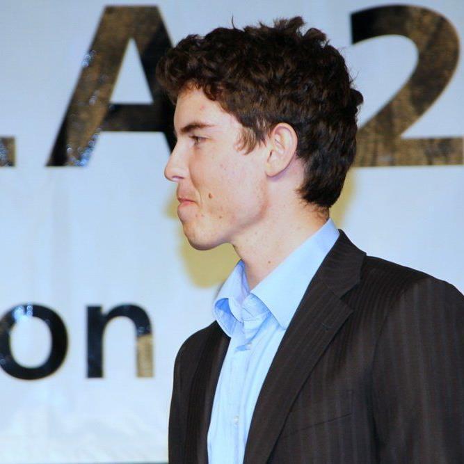 Marcel Mathis wurde beim EC-Riesentorlauf Sechzehnter.