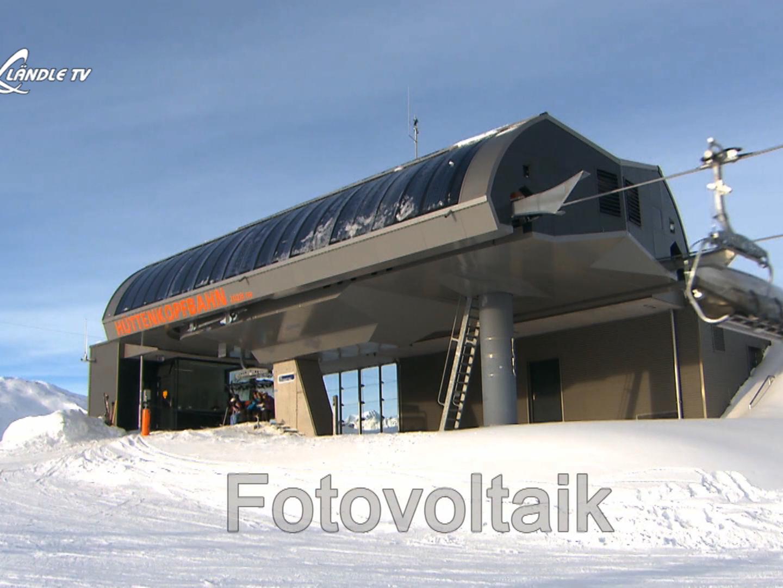 Fotovoltaik‐Sesselbahn wird Realität