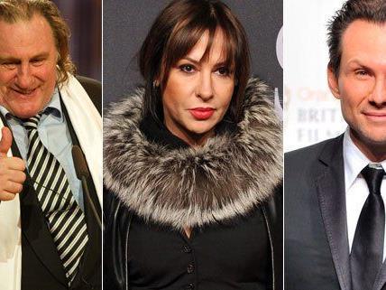 Starauflauf beim Filmball in Wien: Christian Slater und Gerard Depardieu werden erwartet
