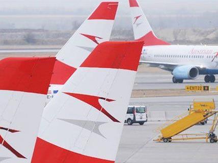Die AUA musste am Wochenende drei Flüge ausfallen lassen.
