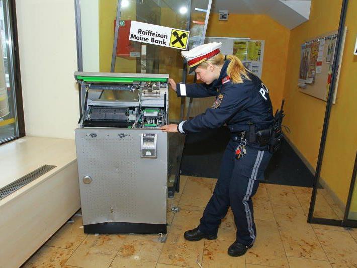Bankomat-Raub in Doren beschäftigte die Polizei