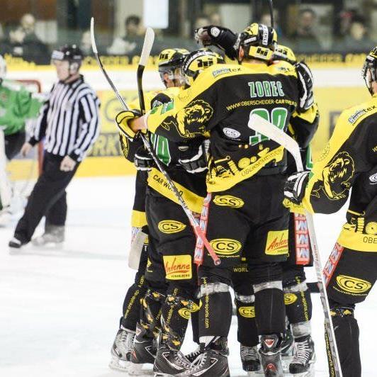 Mit einem Derbysieg will der EHC Lustenau seine winzige Chance auf das Play-off noch wahren.